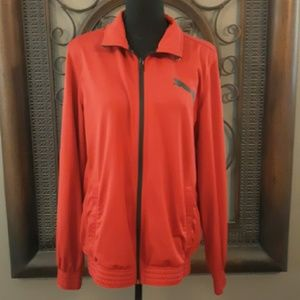 Red Puma zip up jacket